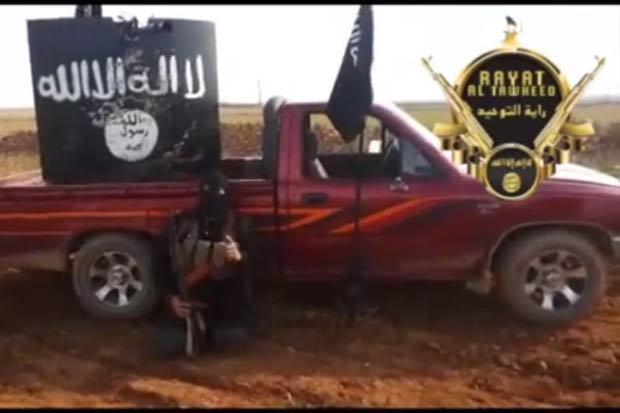 Reprodução de suposto jihadista britânico na Síria. Crédito YouTube