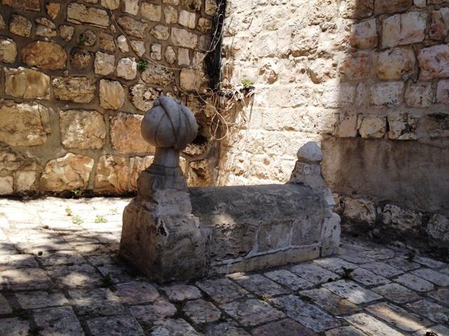 Túmulo de um dos engenheiros das muralhas de Solimão. Crédito Diogo Bercito/Folhapress
