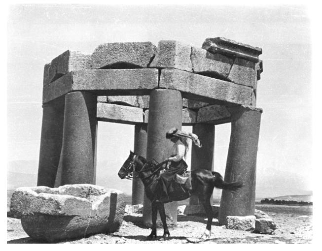 Gertrude Bell, uma das responsáveis pela criação do Iraque moderno. Crédito Reprodução