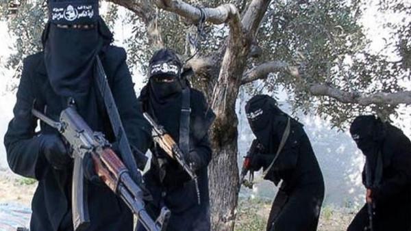 Jihadistas em foto reproduzida a partir do Twitter