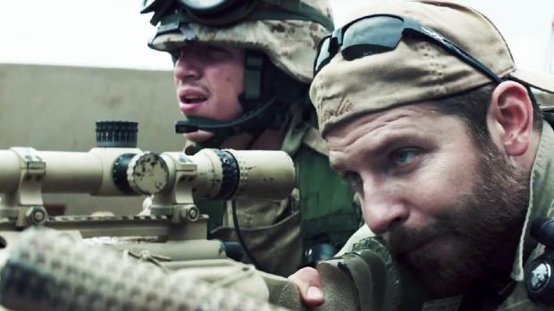 """Cena de """"American Sniper"""". Crédito Reprodução"""