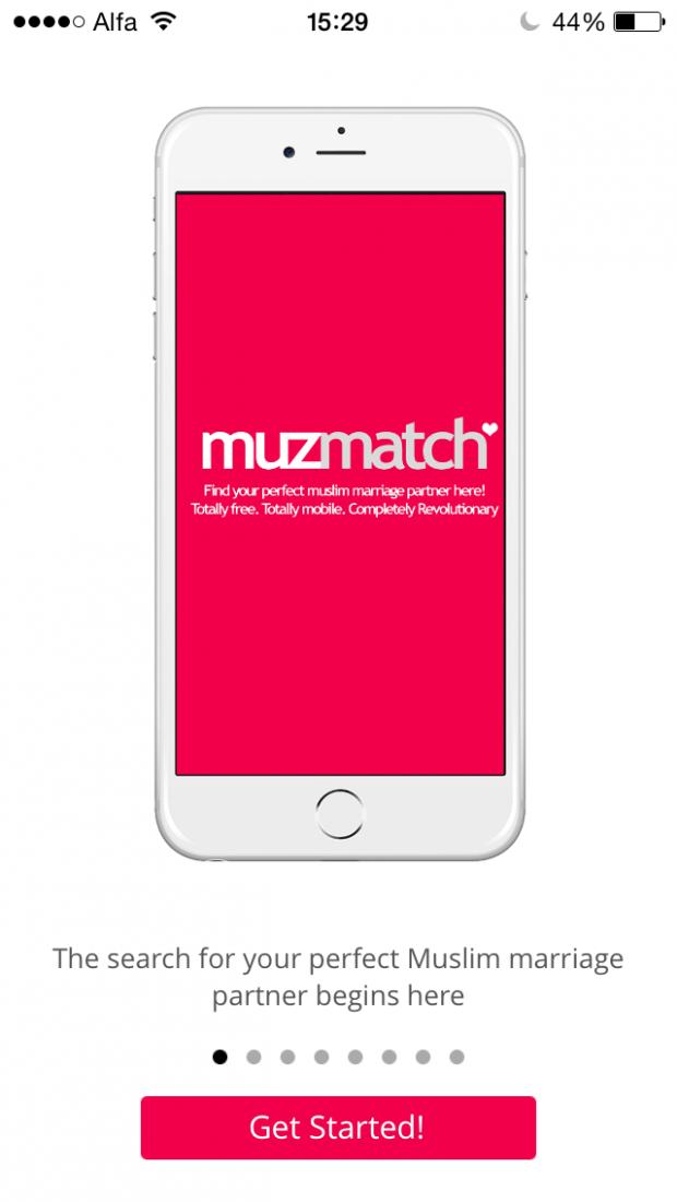 Tela de abertura do Muzmatch. Crédito Reprodução