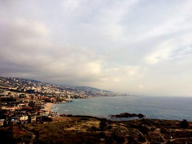 Baía de Biblos. Crédito Diogo Bercito/Folhapress